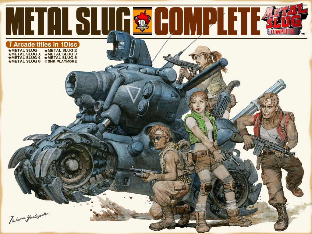 Games Wallpaper: Metal Slug
