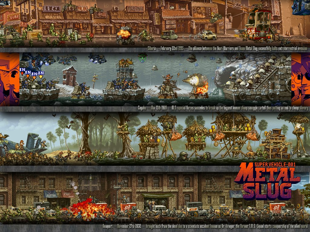 Games Wallpaper: Metal Slug