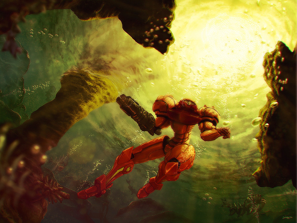 Games Wallpaper: Metroid