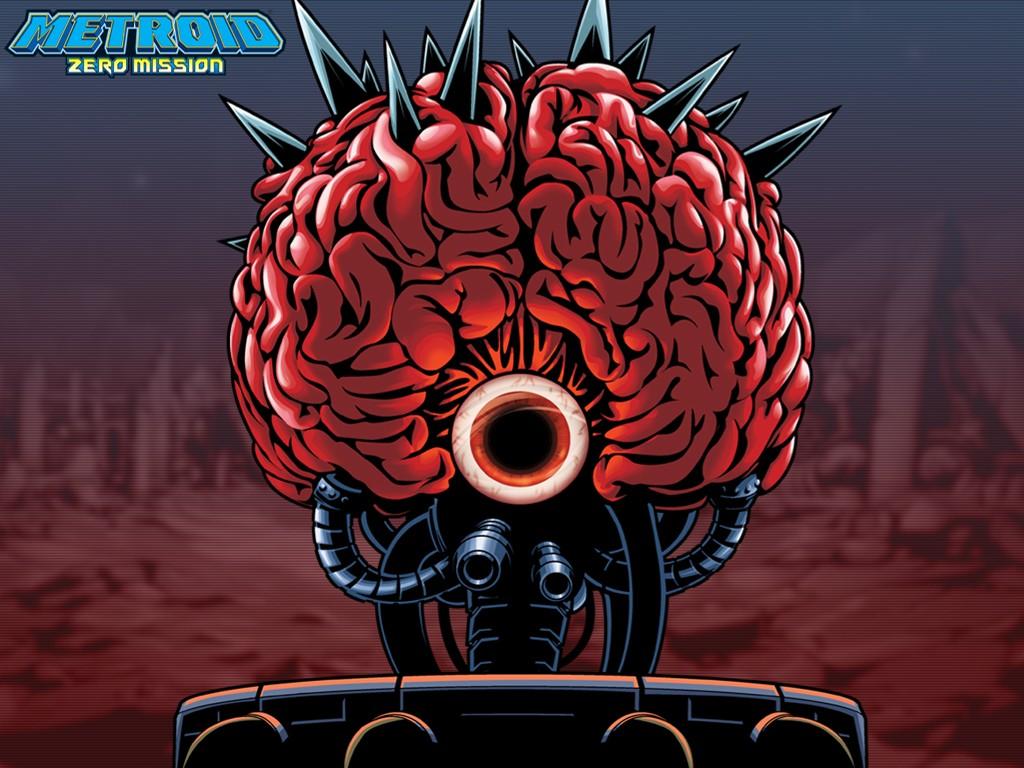 Papel de Parede Gratuito de Jogos : Metroid Zero Mission - Mother Brain