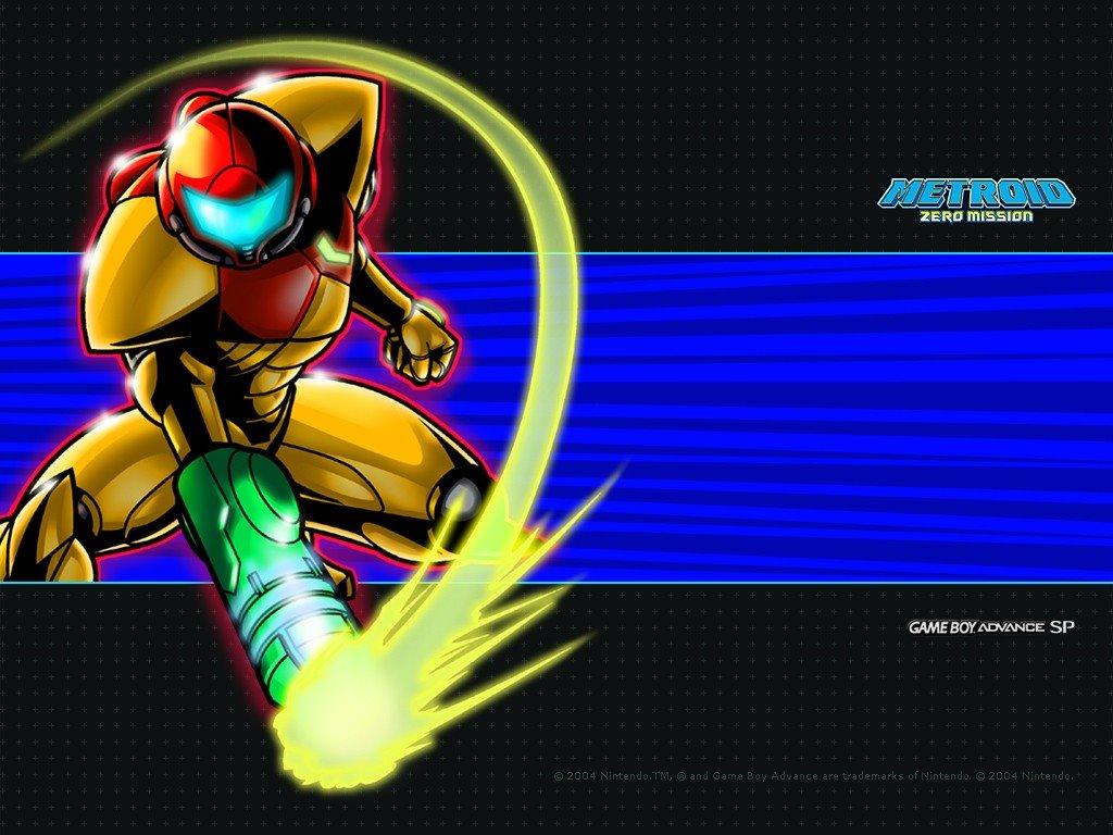 Games Wallpaper: Metroid Zero Mission