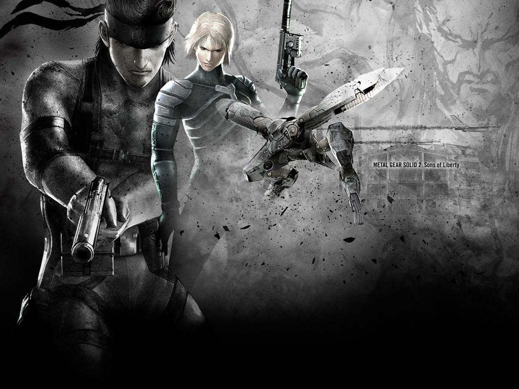 Games Wallpaper: Metal Gear Solid 2