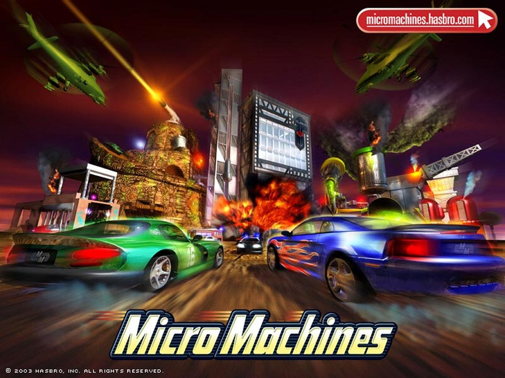 Games Wallpaper: MicroMachines - City