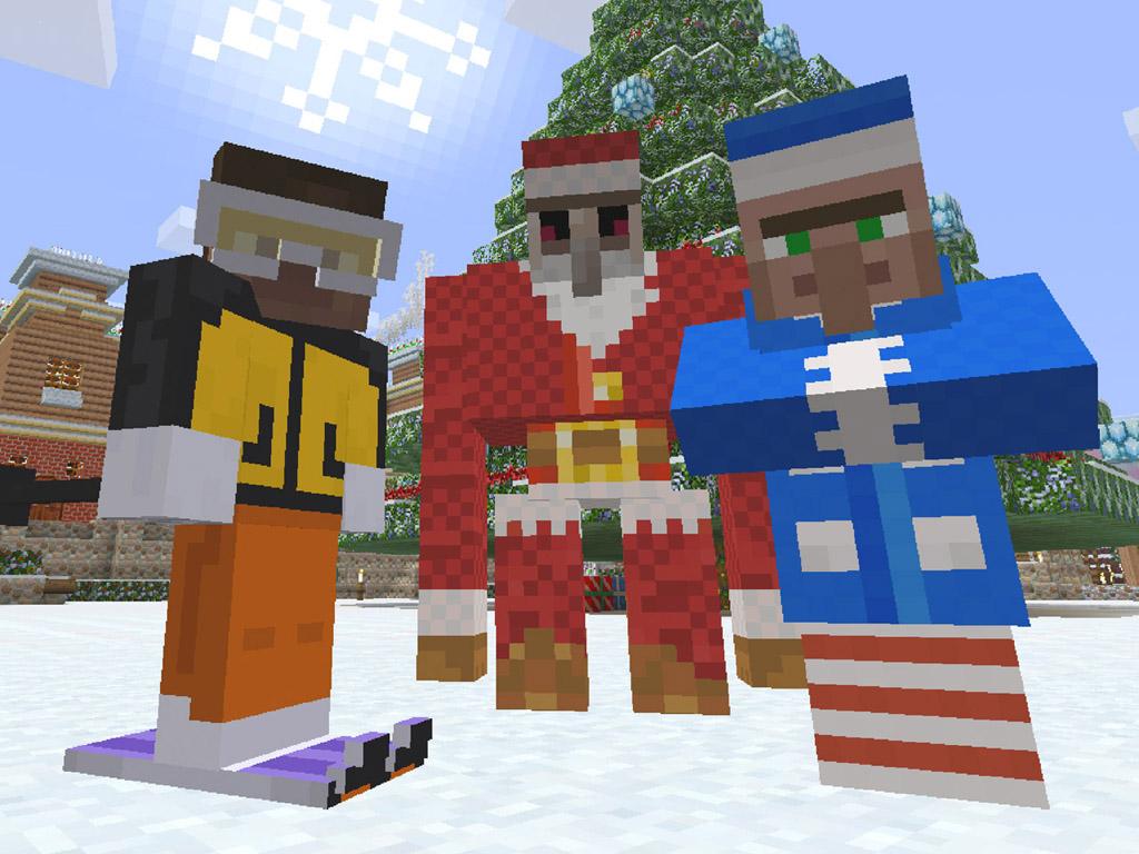 Games Wallpaper: Minecraft - Christmas