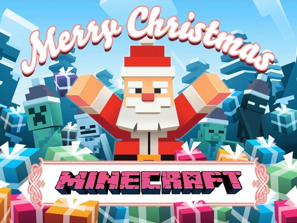 Games Wallpaper: Minecraft - Merry Christmas