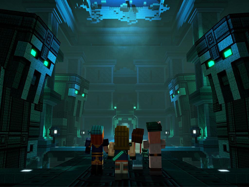 Games Wallpaper: Minecraft Story Mode - Season 2