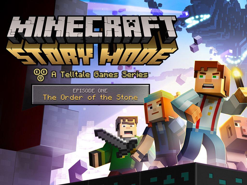Games Wallpaper: Minecraft - Story Mode