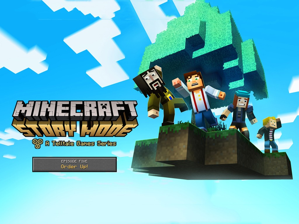 Games Wallpaper: Minecraft - Story Mode