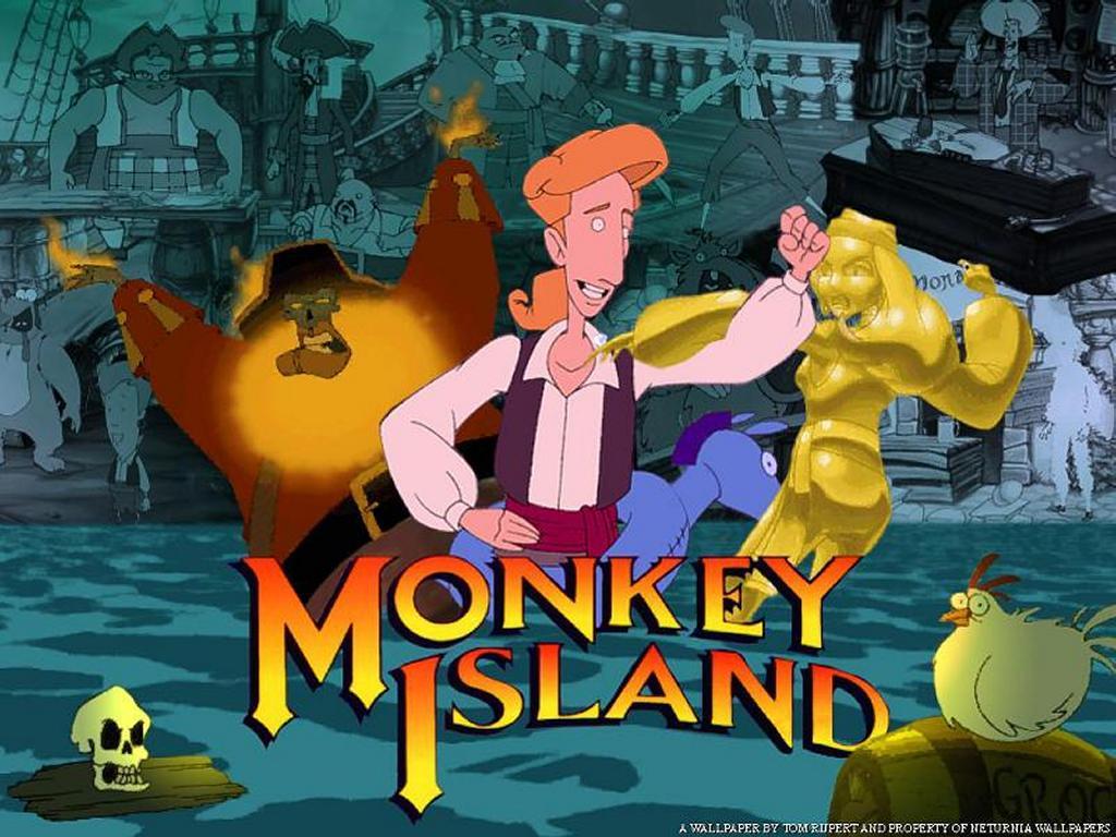 Games Wallpaper: Monkey Island