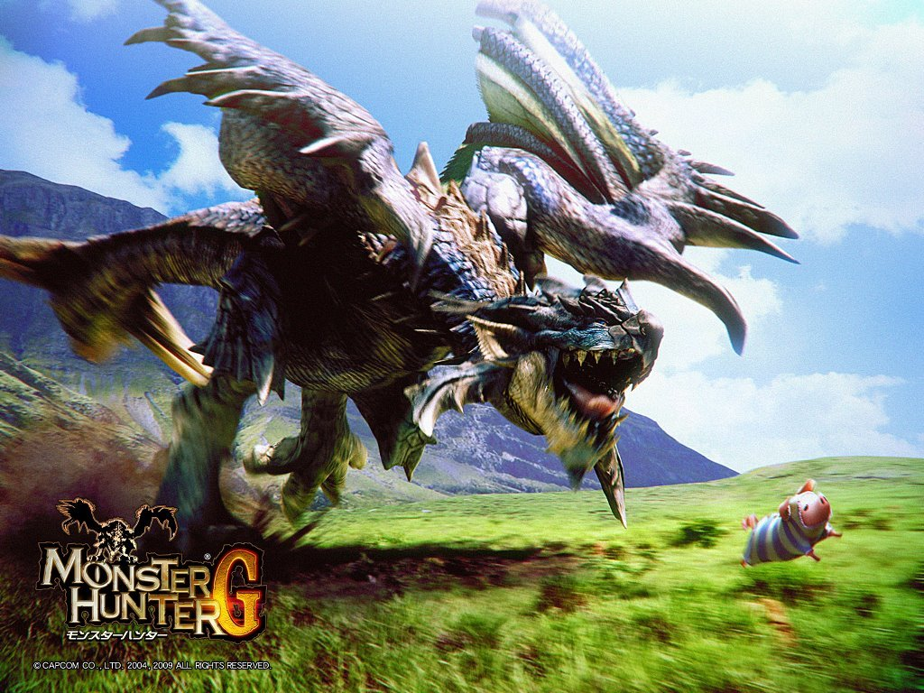 Games Wallpaper: Monster Hunter G