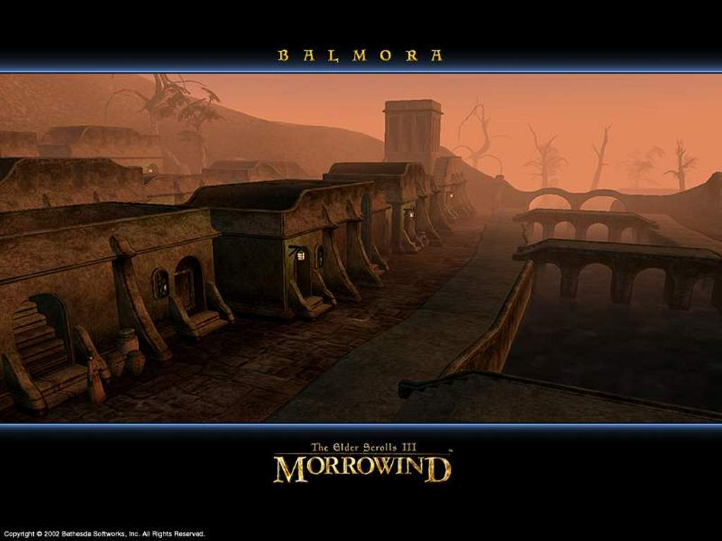 Games Wallpaper: Morrowind - Balmora