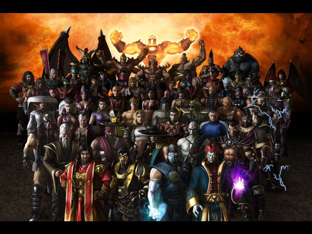 Games Wallpaper: Mortal Kombat - Armageddon