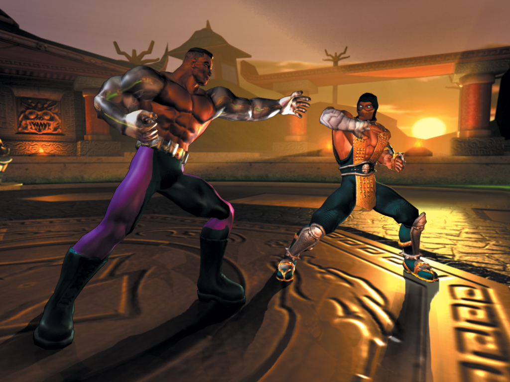 Games Wallpaper: Mortal Kombat - Fight!