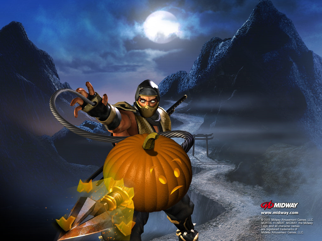 Games Wallpaper: Mortal Kombat - Halloween