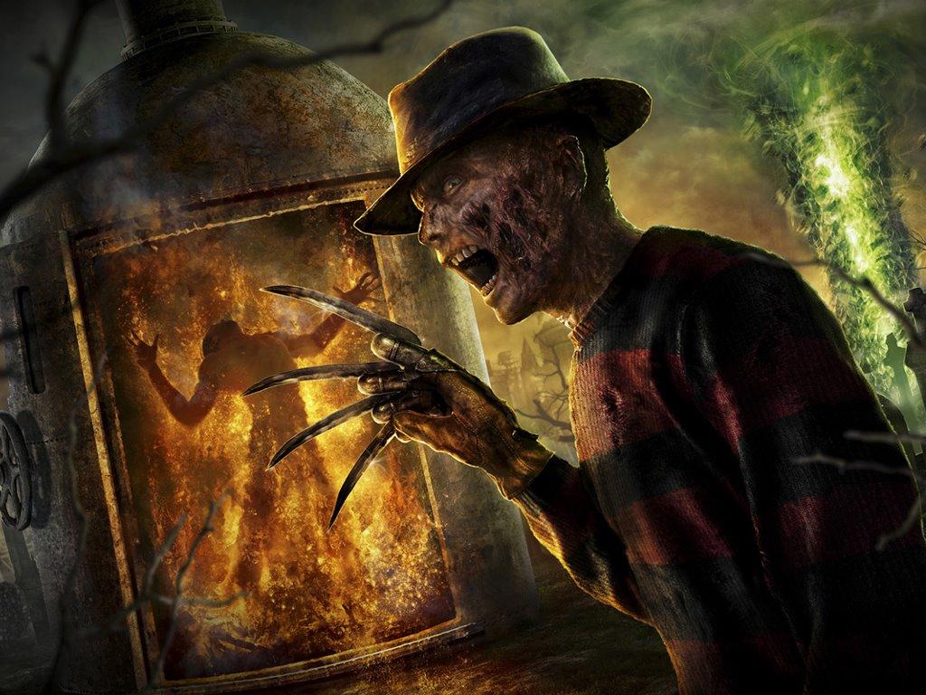 Games Wallpaper: Mortal Kombat - Freddy Krueger