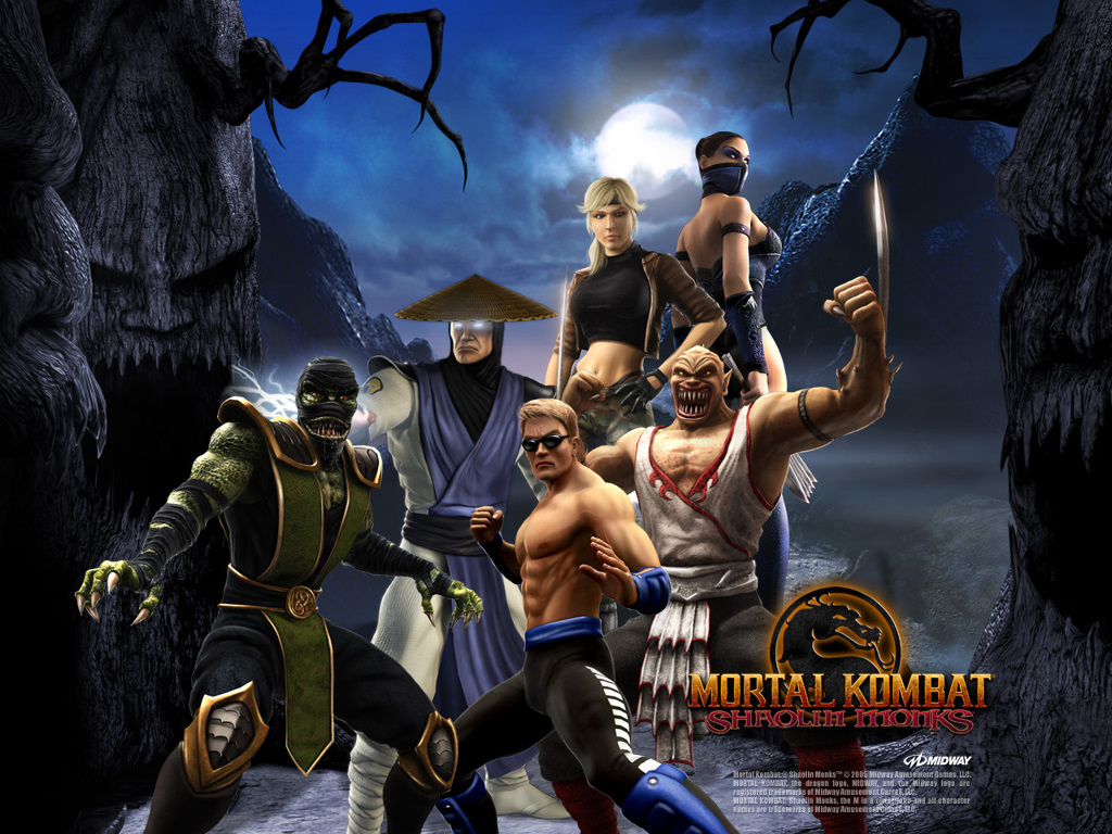 Games Wallpaper: Mortal Kombat - Shaolin Monks