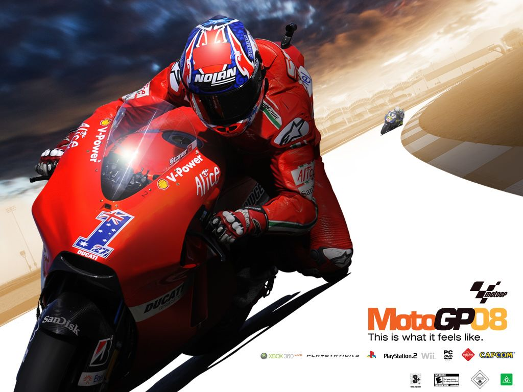 Games Wallpaper: Moto GP 08
