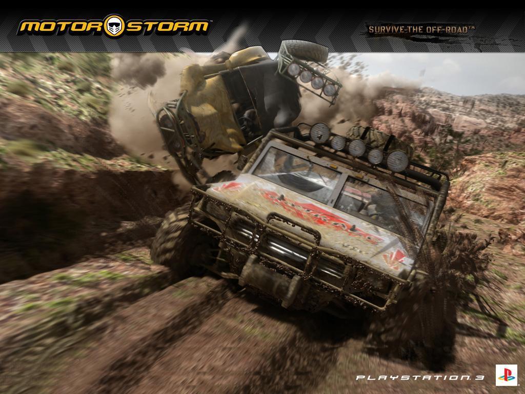 Games Wallpaper: Motorstorm