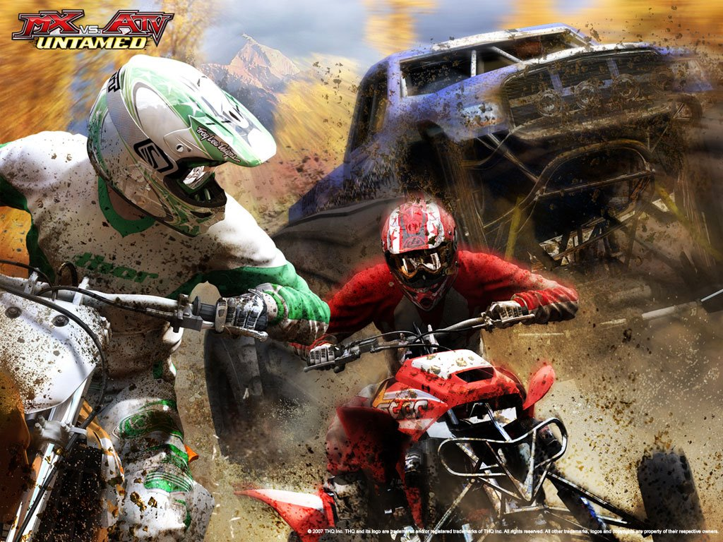 Games Wallpaper: MX vs ATV - Untamed