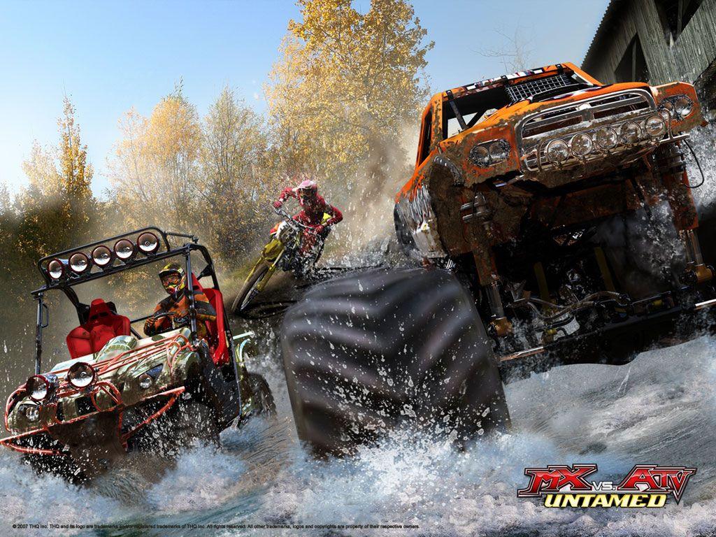 Games Wallpaper: MX vs ATV