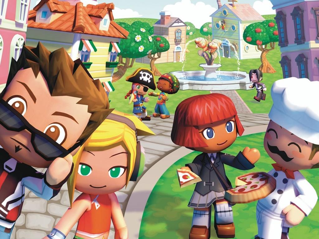 Games Wallpaper: MySims