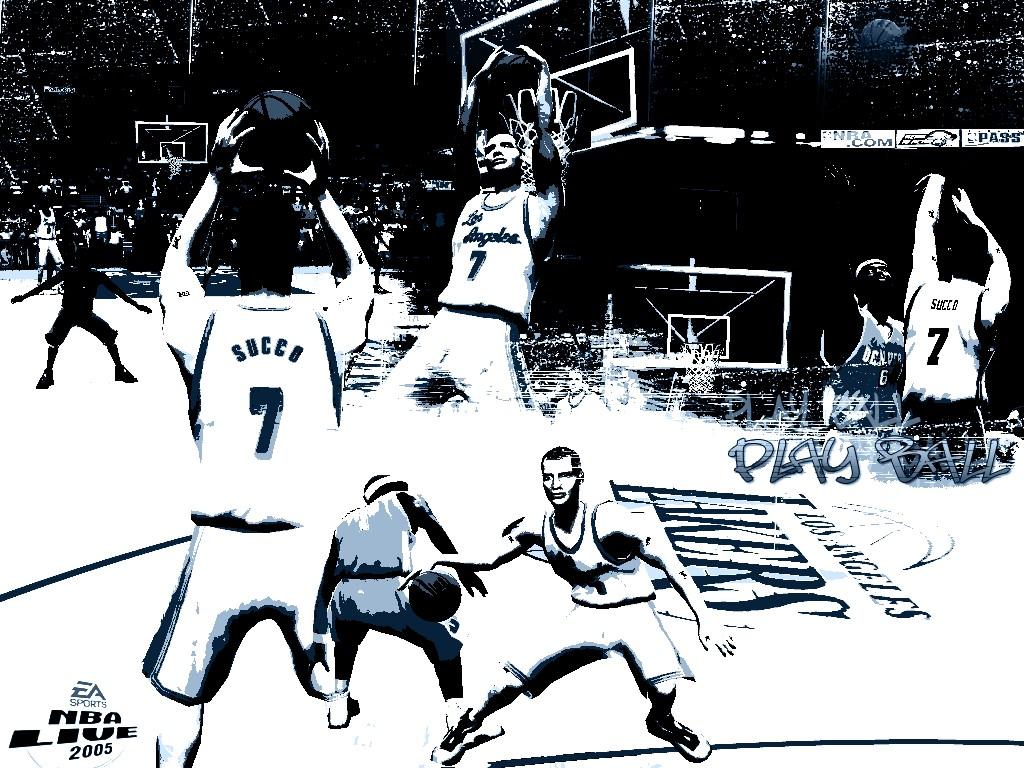 Games Wallpaper: NBA Live 2005
