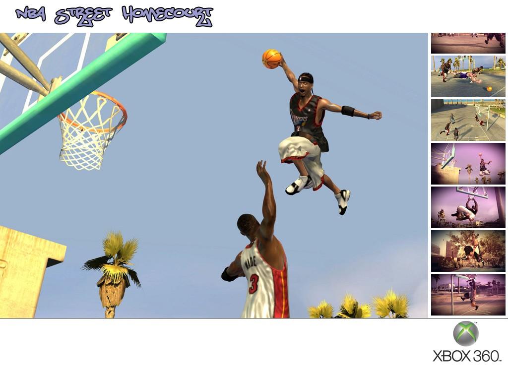 Games Wallpaper: NBA Street Homecourt