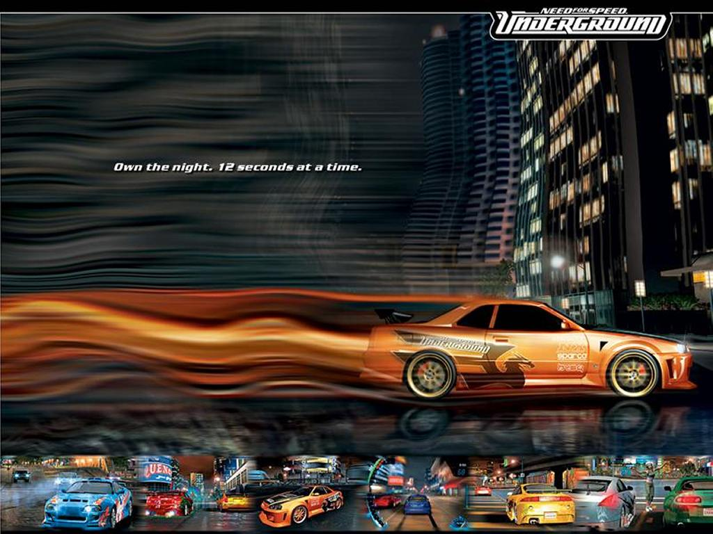 Games Wallpaper: Need For Speed Underground