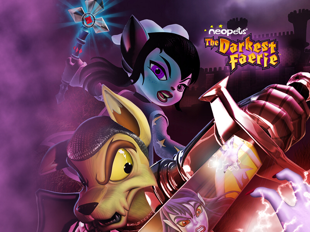 Games Wallpaper: Neopets - The Darkest Faerie