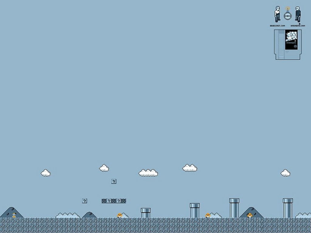 Games Wallpaper: NES Nostalgia - Super Mario Bro