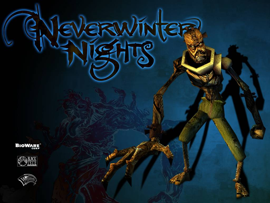 Games Wallpaper: Neverwinter Nights - Flesh Golem