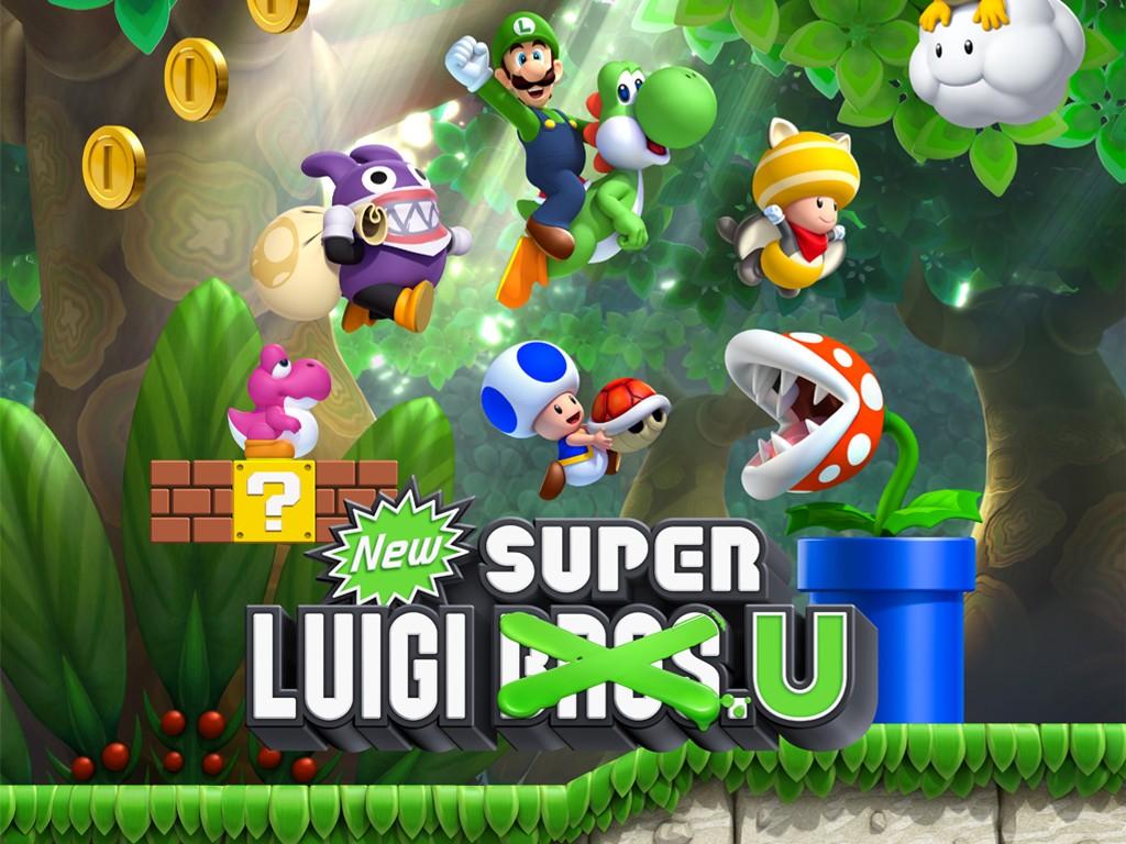Games Wallpaper: New Super Luigi U