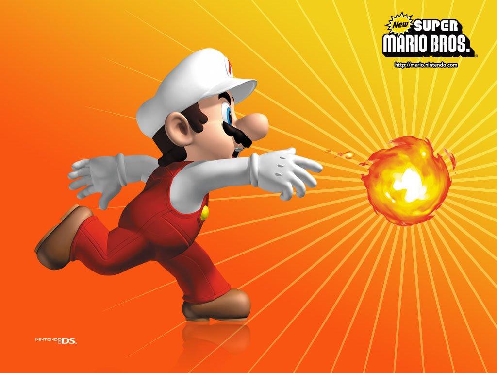 Games Wallpaper: New Super Mario Bros