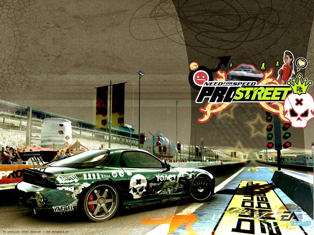 Games Wallpaper: Need for Speed Pro Street