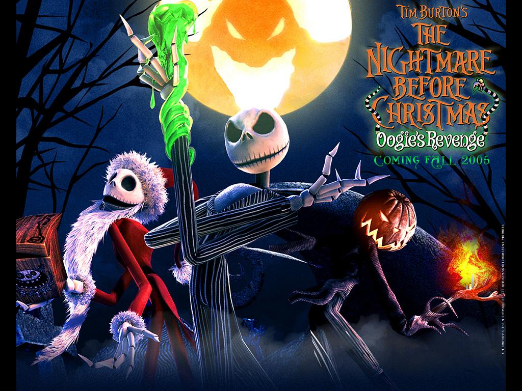 Games Wallpaper: The Nightmare Before Christmas - Oogie's Revenge