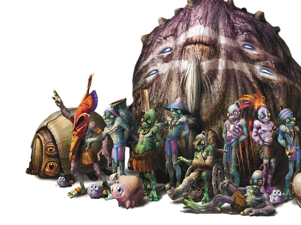 Games Wallpaper: Oddworld - Characters