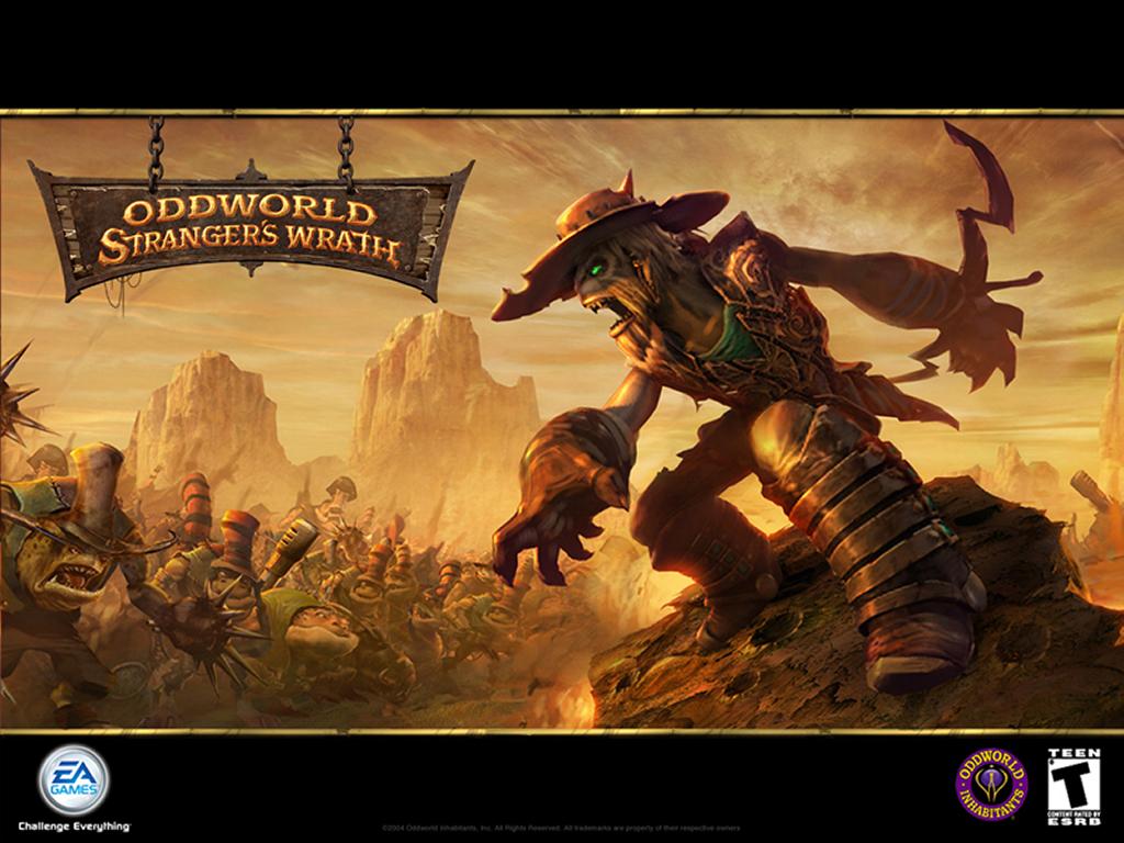 Games Wallpaper: Oddworld - Stranger's Wrath