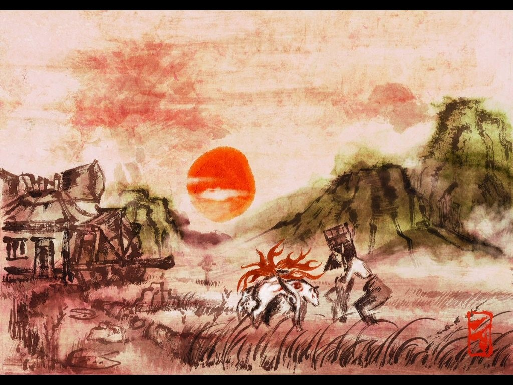 Games Wallpaper: Okami