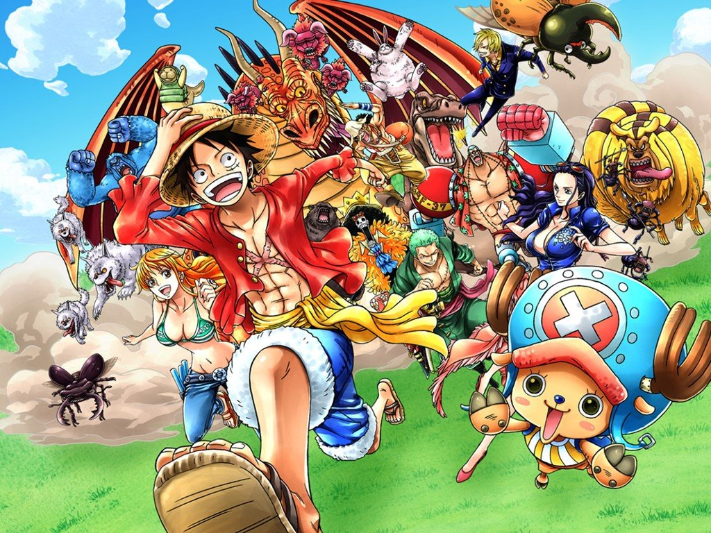 Games Wallpaper: One Piece - Unlimited World RED