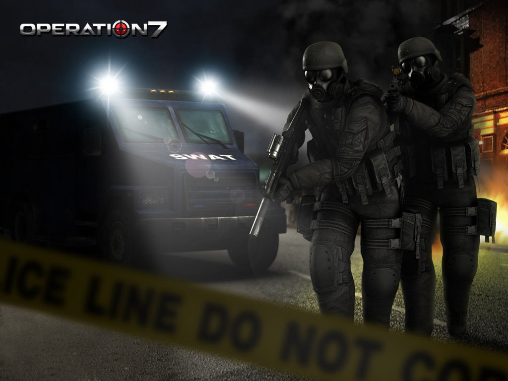 Games Wallpaper: Operation 7