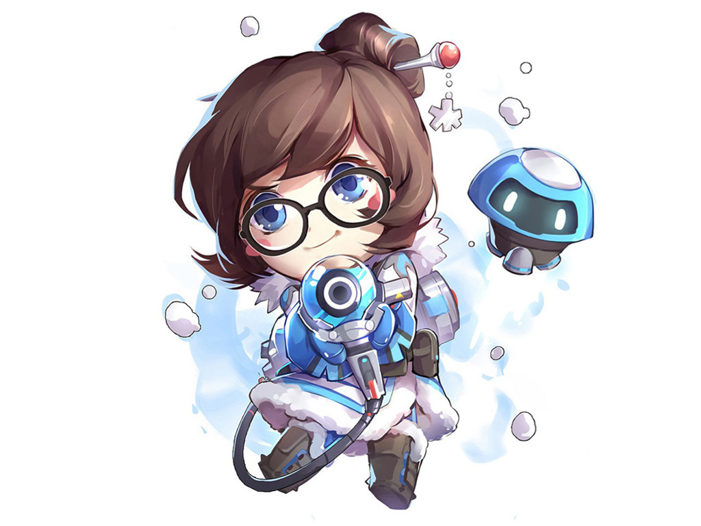 Games Wallpaper: Overwatch - Mei