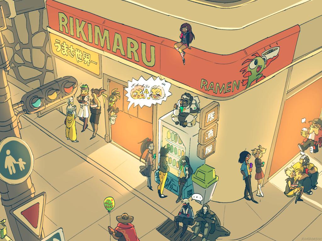 Games Wallpaper: Overwatch - Manga