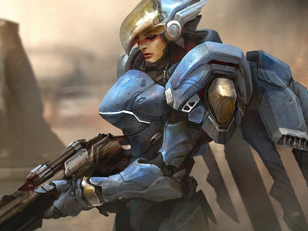 Games Wallpaper: Overwatch - Pharah