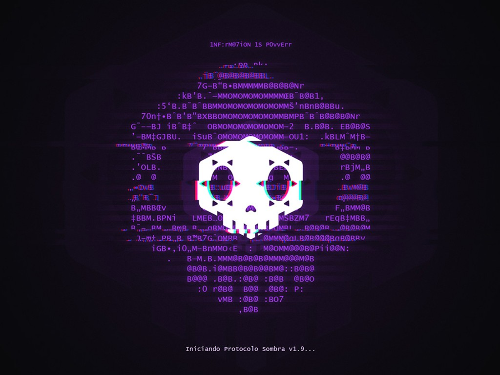 Games Wallpaper: Overwatch - Sombra Protocol