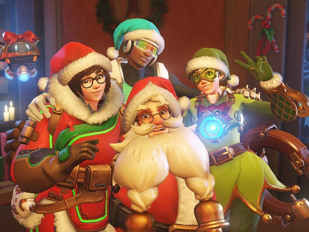 Games Wallpaper: Overwatch - Christmas