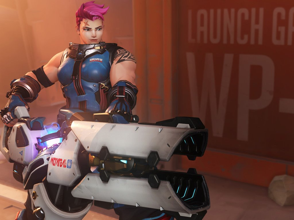 Games Wallpaper: Overwatch - Zarya