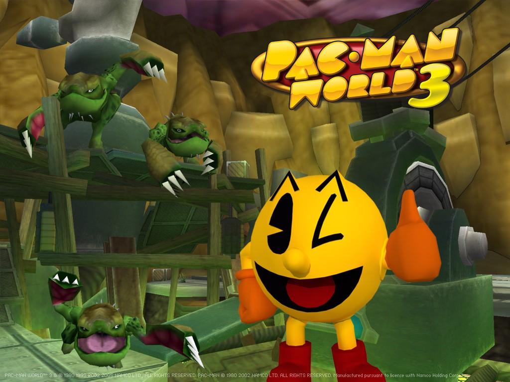 Games Wallpaper: Pac-Man World 3
