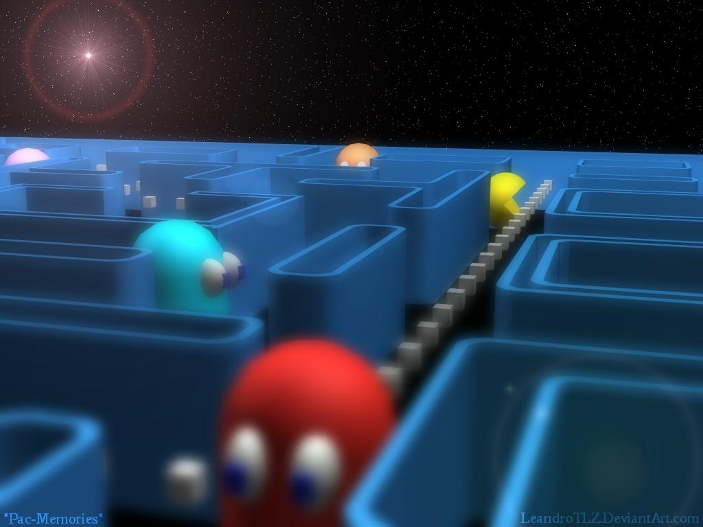 Games Wallpaper: Pac Man