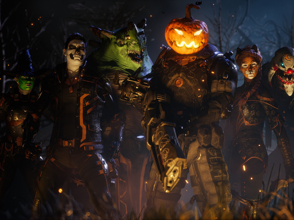 Games Wallpaper: Paragon - Halloween