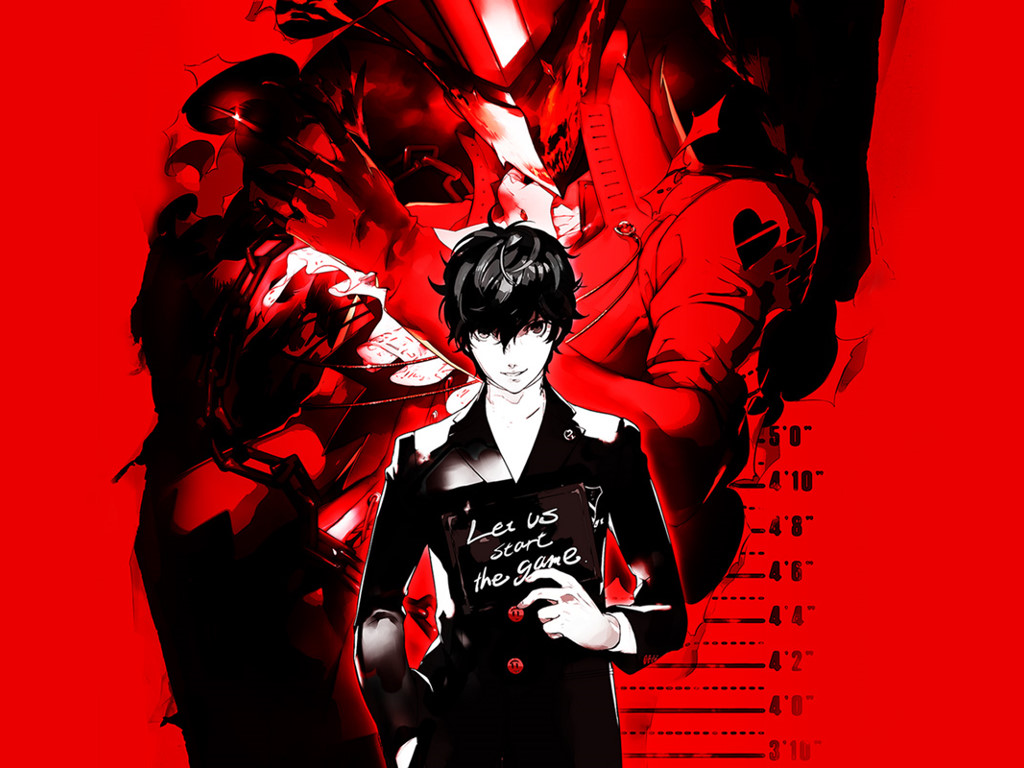 Games Wallpaper: Persona 5